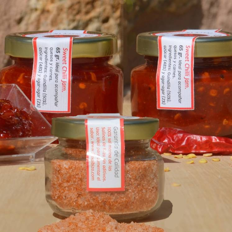 Ibiza Chili Jam and Chili Salt