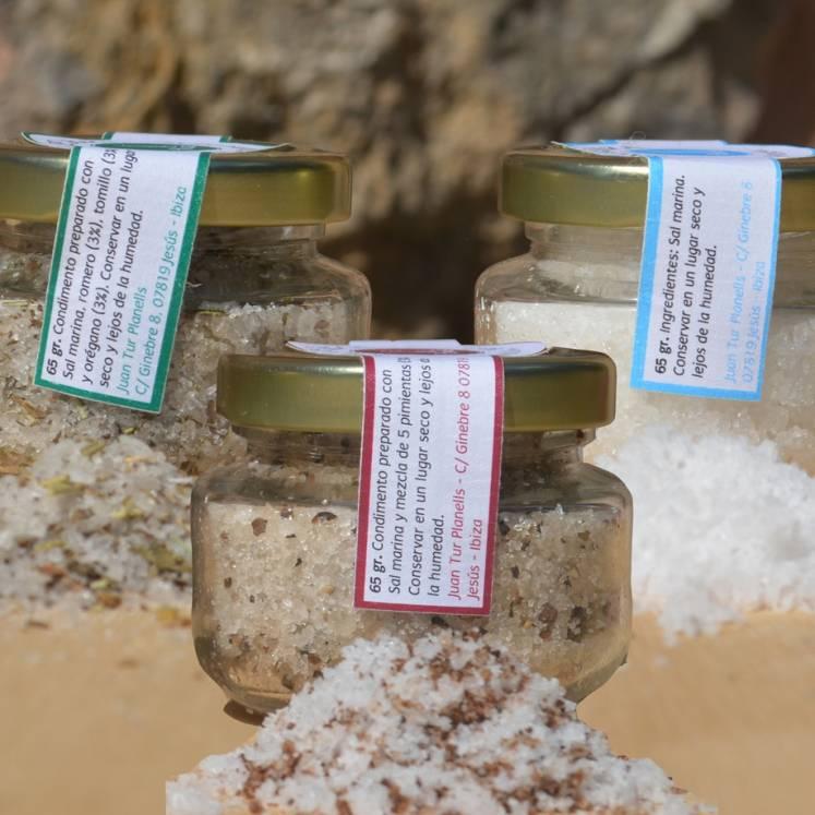 Sal marina - 3 variedades