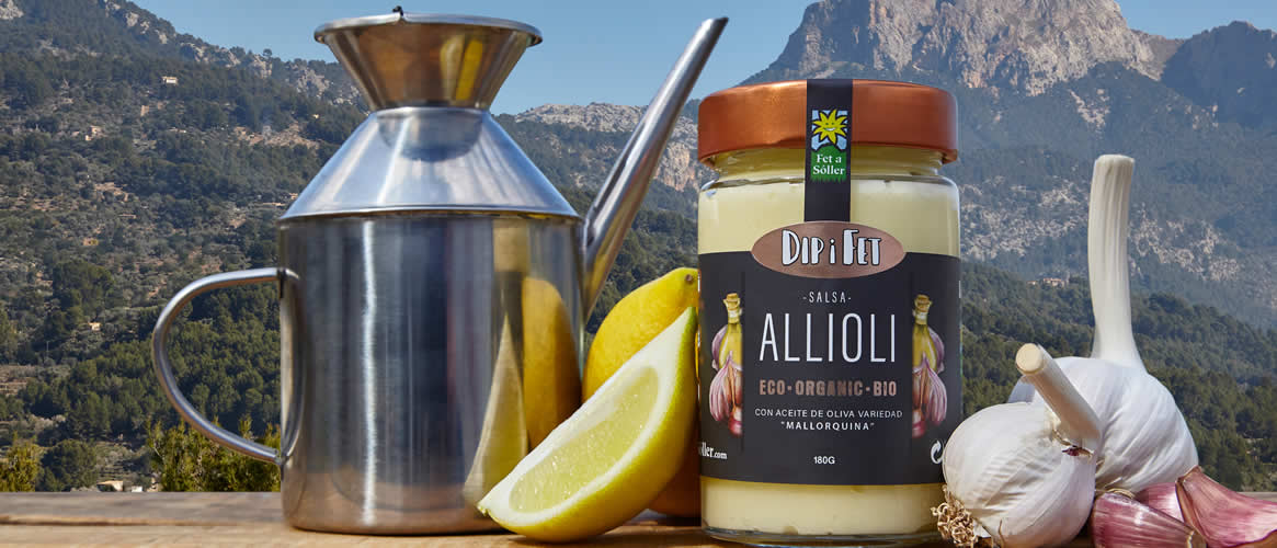 ALLIOLI garlic cream, ORGANIC, Fet a Sóller