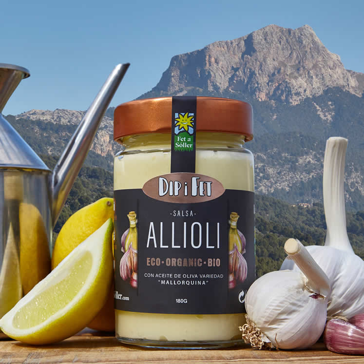 Allioli garlic cream Fet a Sóller