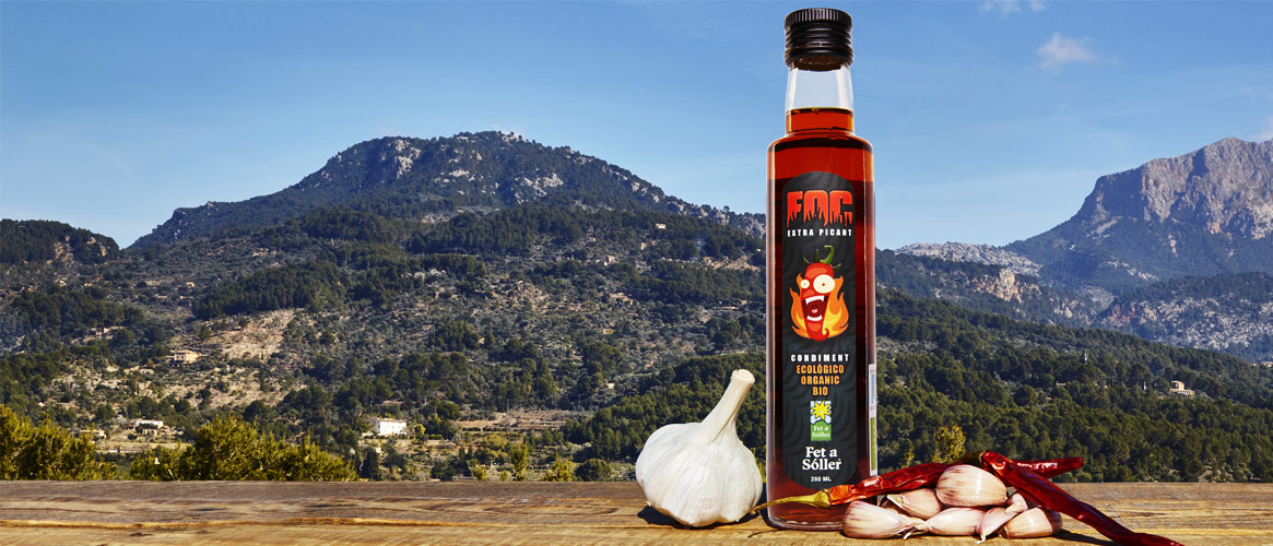 FOC Condiment spicy olive oil 250ml
