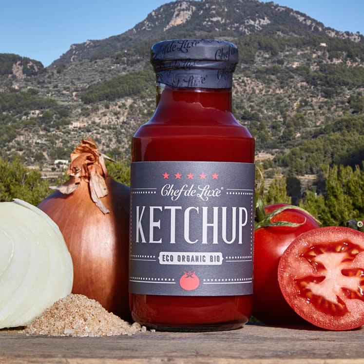 Chef de Luxe Bio Tomaten Ketchup