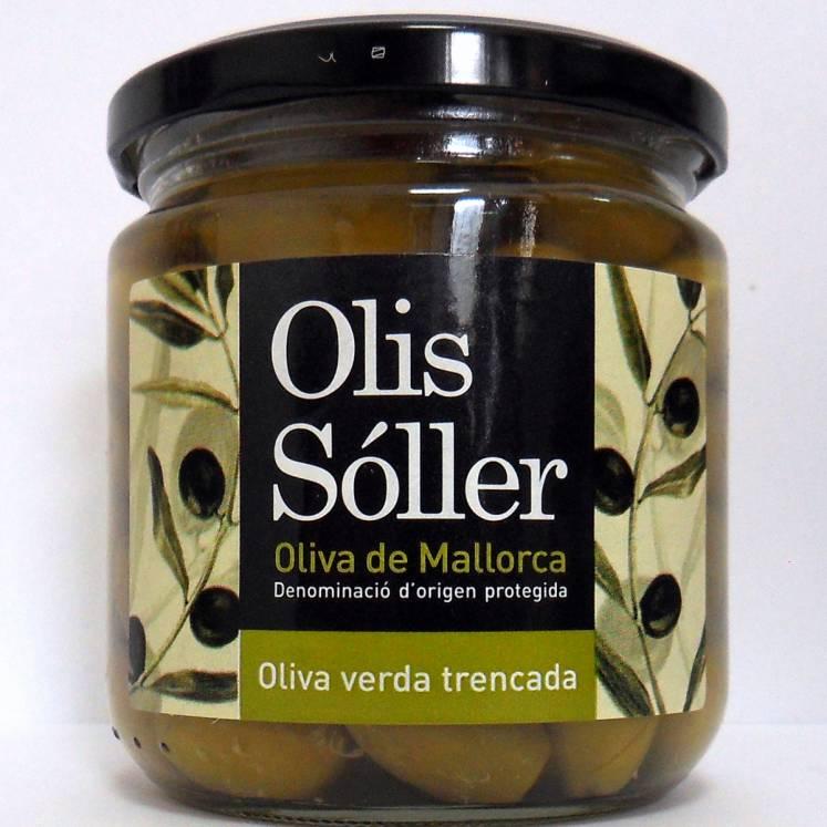 Olis Sóller Grüne Oliven Trencadas aus Mallorca D.O.P. 200g