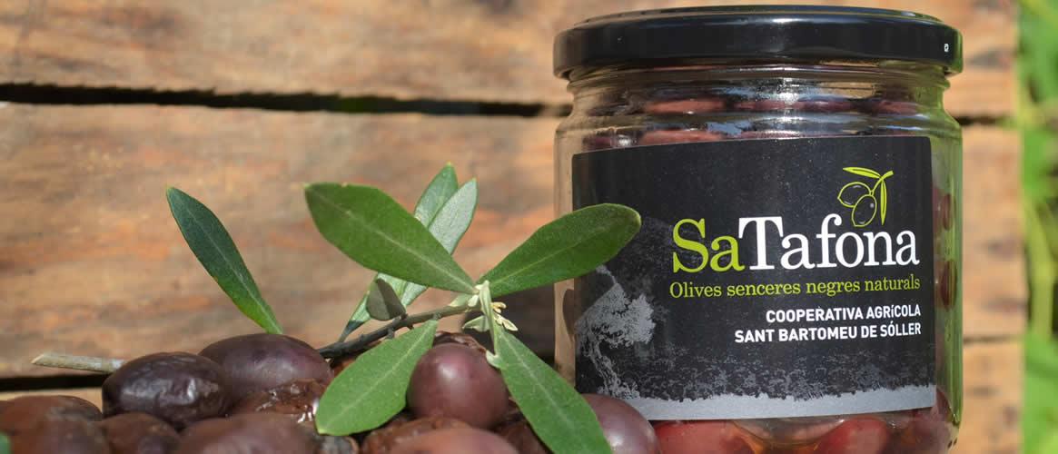 Sa Tafona Black olives 200g