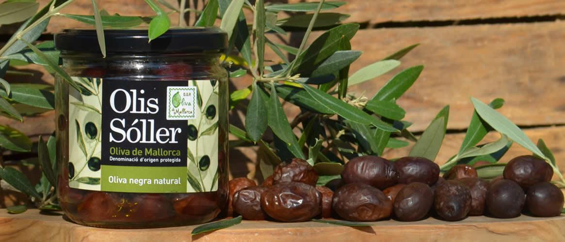Majorcan black olives D.O.P. - 200g