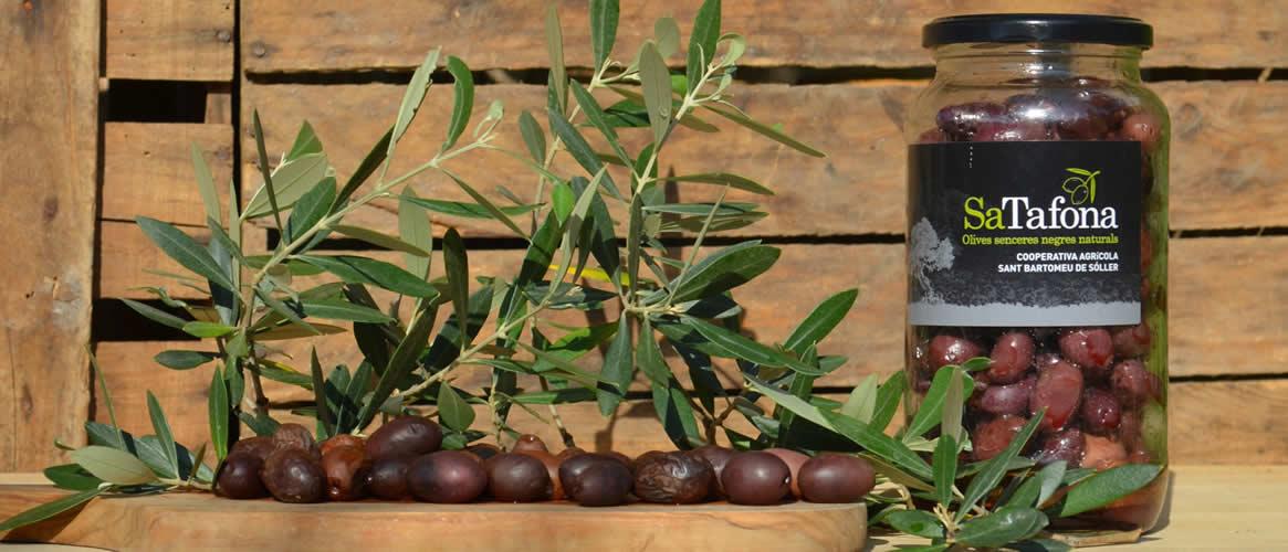 Sa Tafona Black olives 550g