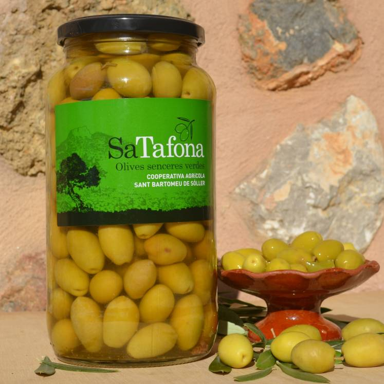 Sa Tafona Grüne Oliven Sencera 550g