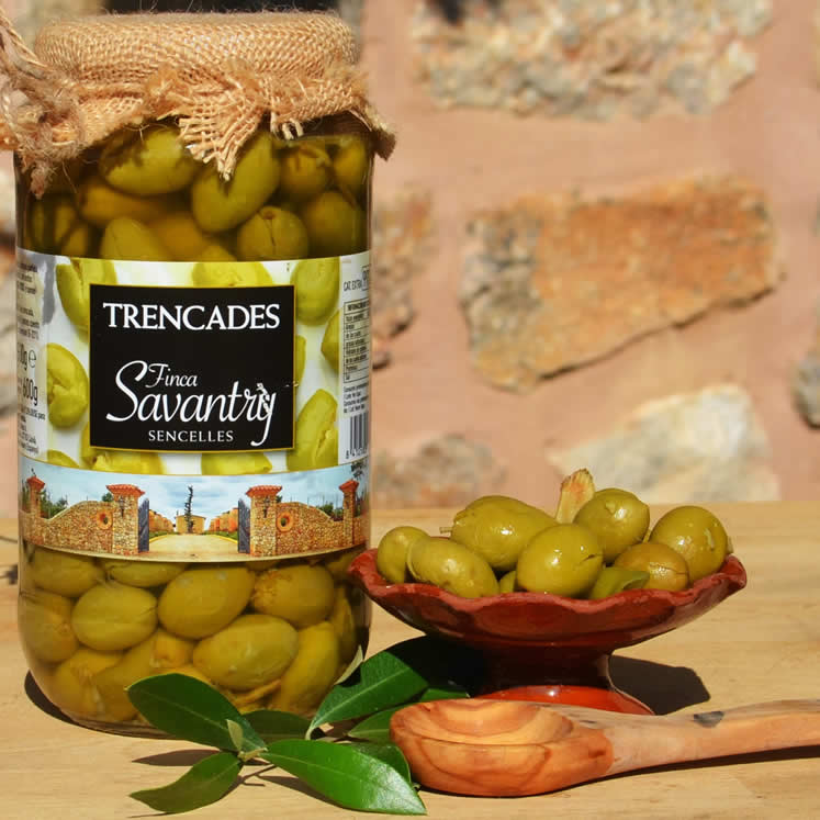 Savantry Olives trencadas 1000g