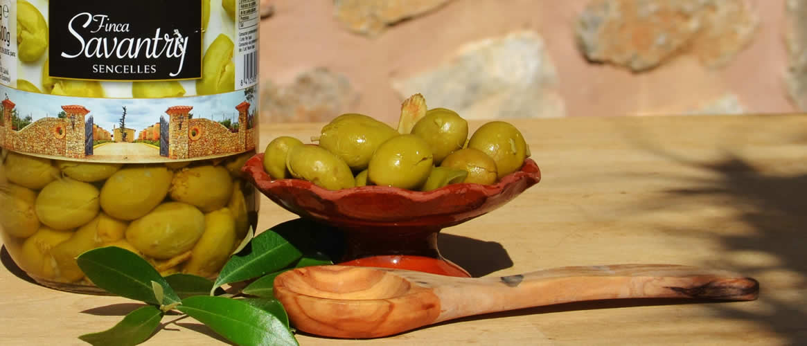 Savantry Olives trencadas 600g