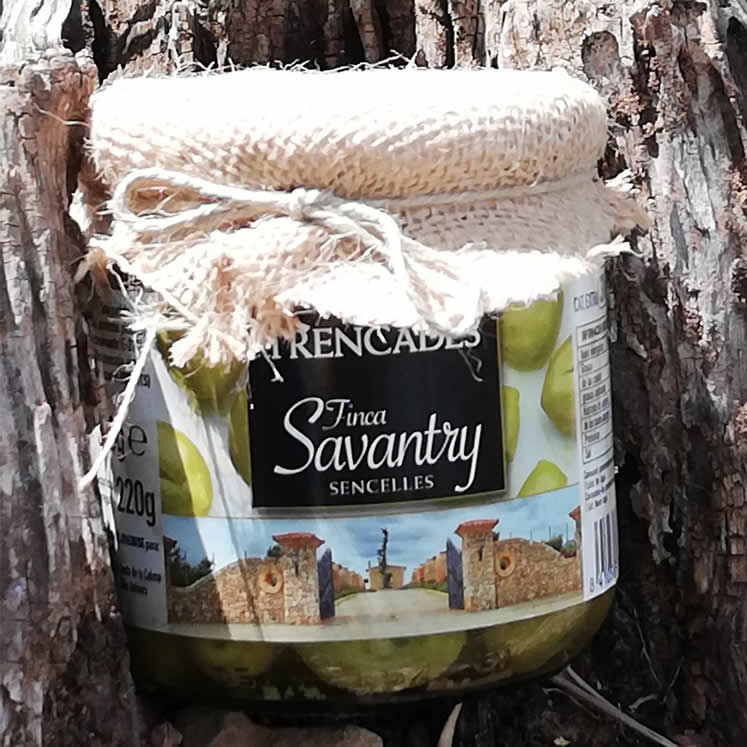 Savantry Olives trencadas 300g