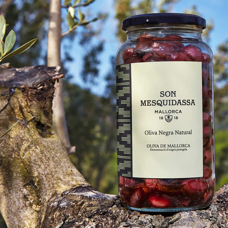Son Mesquidassa, natural black olives from Mallorca D.O.P.