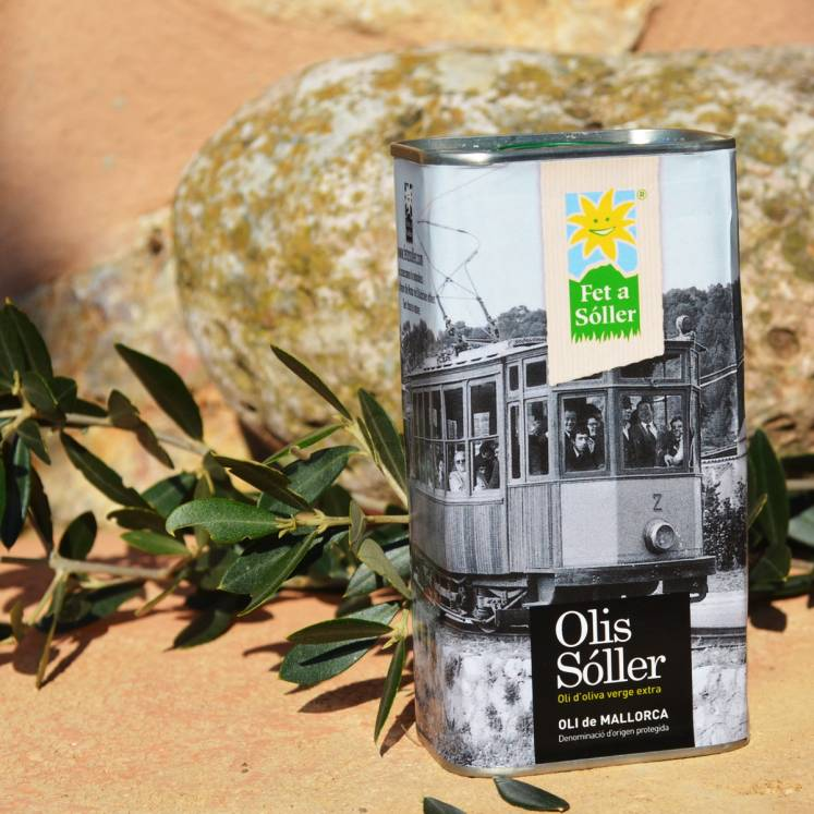 Olis Sóller Olive Oil Virgen Extra D.O. Can Tren Sóller