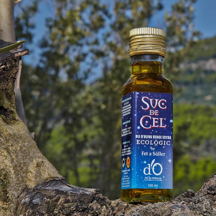 Suc de Cel aceite de oliva eco virgen extra picual D.O. 100ml