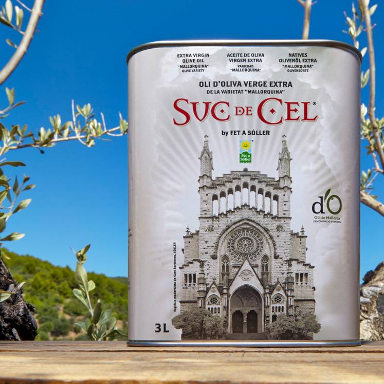 Suc de Cel Mallorquina Olivenöl Virgen Extra D.O. 3L Dose