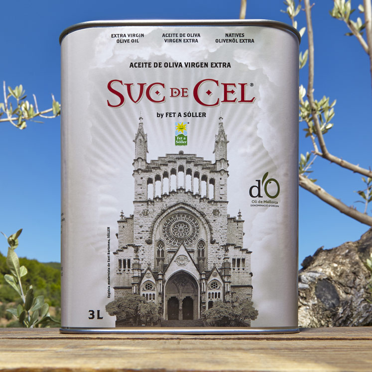 Suc de Cel Coupage Olivenöl Virgen Extra D.O. Oli de Mallorca 3L Dose