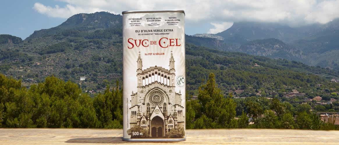 Suc de Cel Mallorquina olive oil Virgen extra D.O.