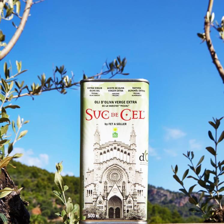 Suc de Cel Picual olive oil Virgen extra D.O.