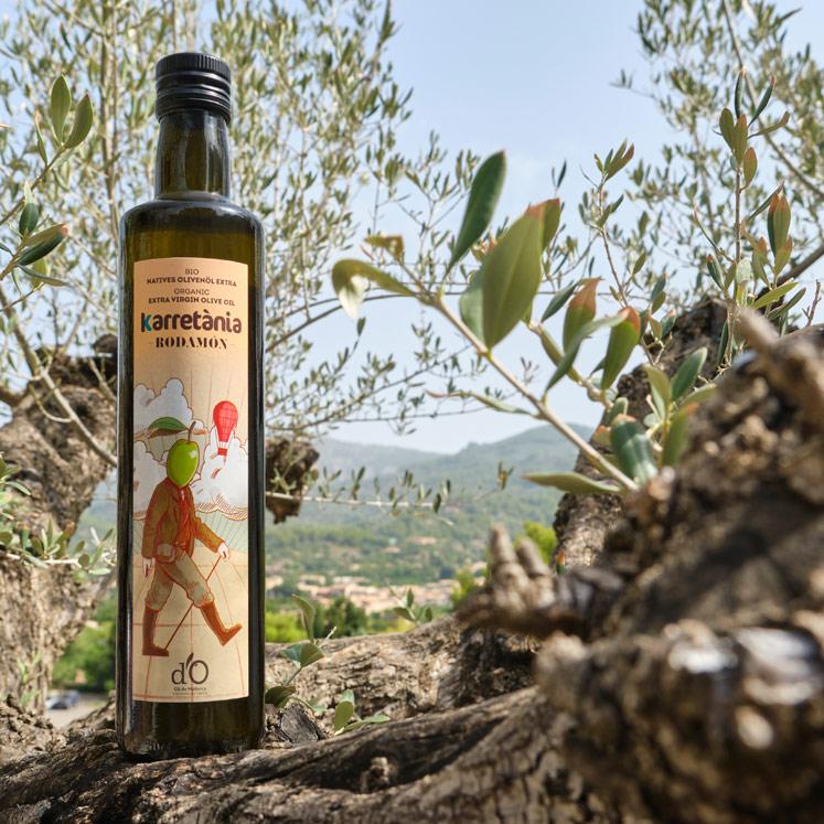 Karretánia Rodamón Organic extra virgin olive oil D.O. 500ml