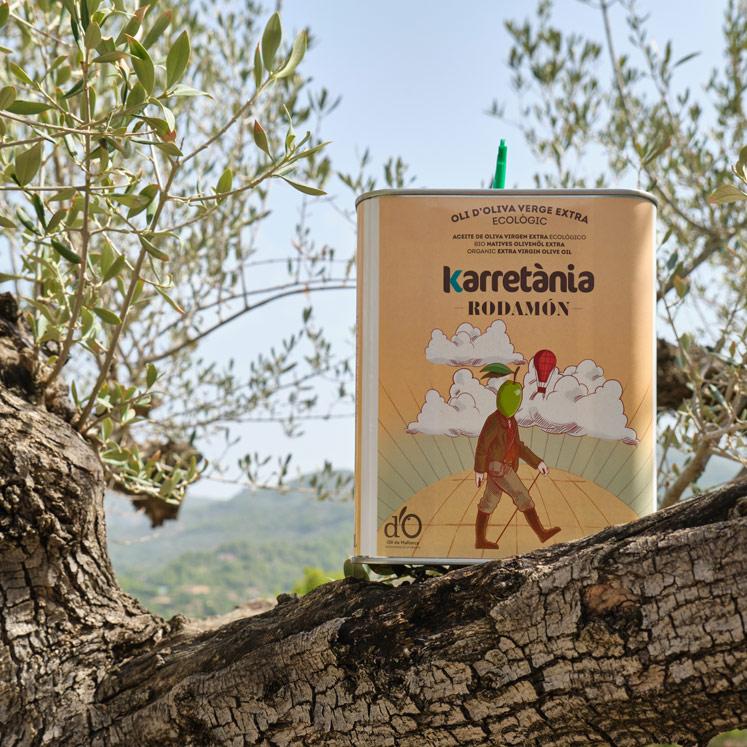 Karretánia Rodamón BIO Olivenöl Virgen Extra D.O. 2L