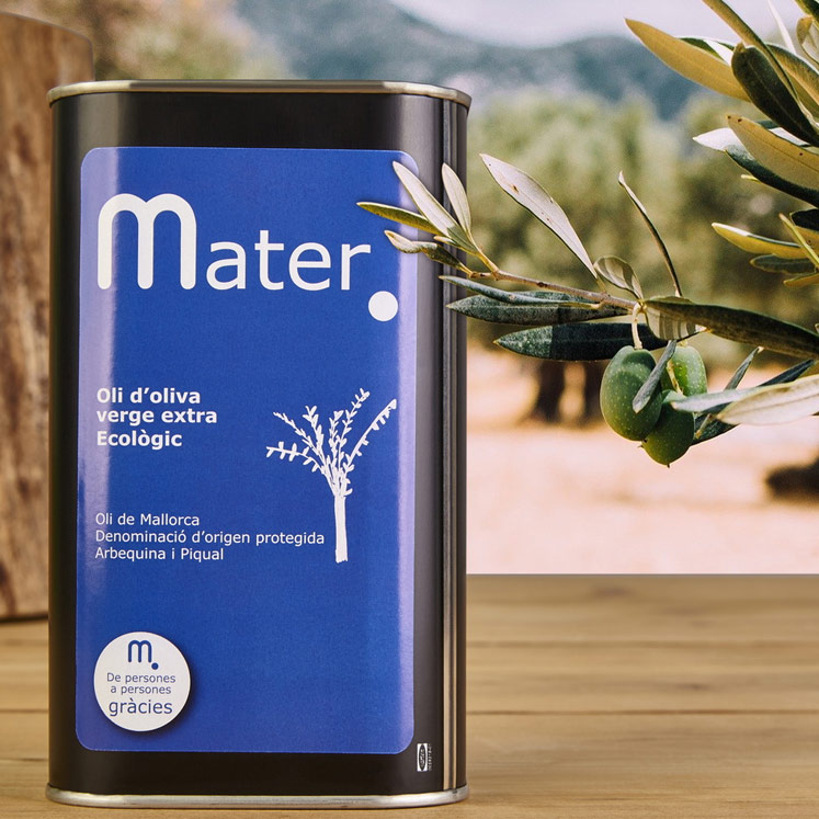 Mater, Organic extra virgin olive oil D.O.