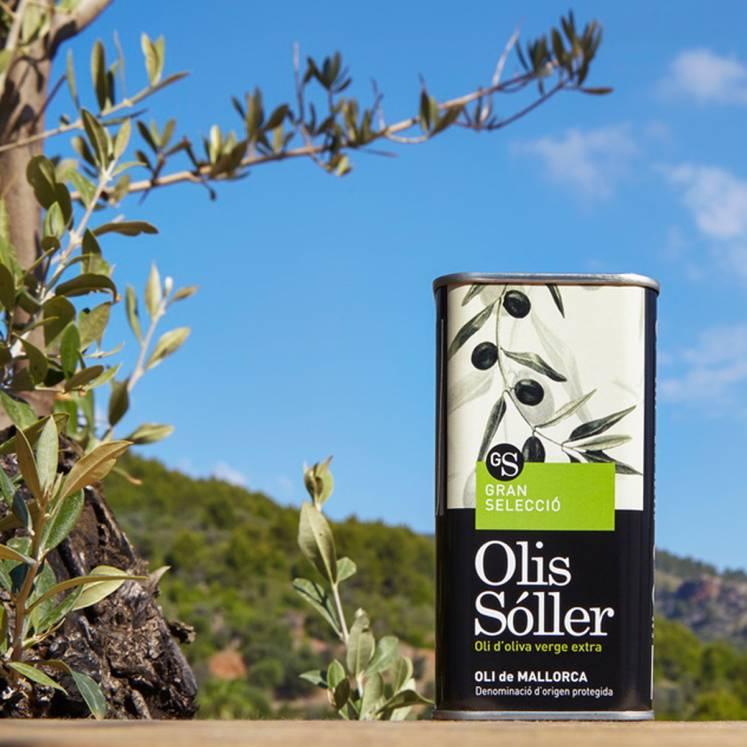 Olis Sóller Gran Selecció Olive Oil Virgen Extra D.O. can