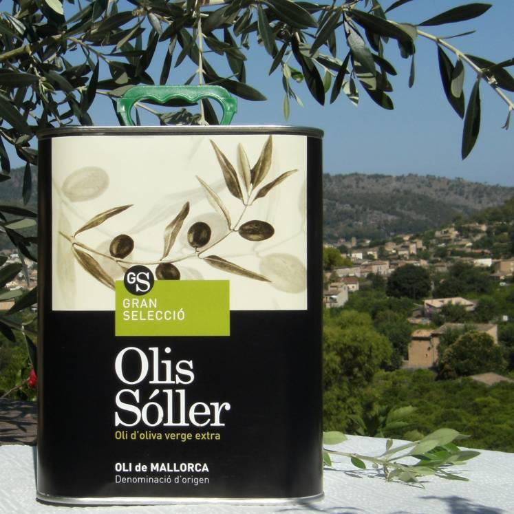 Olis Sóller Gran Selecció Olive Oil Virgen Extra D.O. Can 3l
