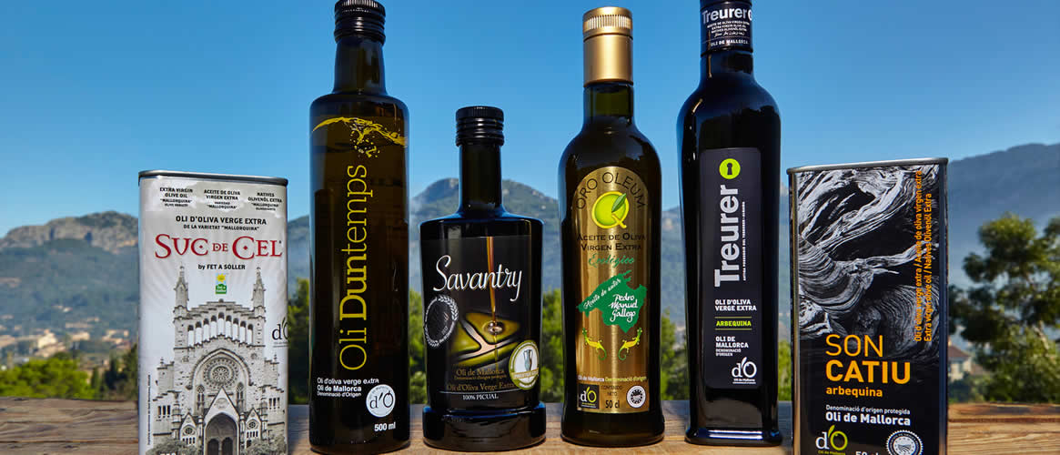 6 x olive oil Virgen Extra D.O. in the tasting box 1