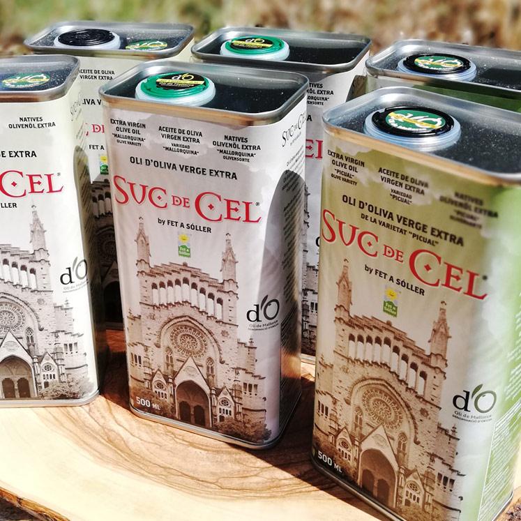 6 x Suc de Cel Aceite de Oliva D.O. 2 variedades