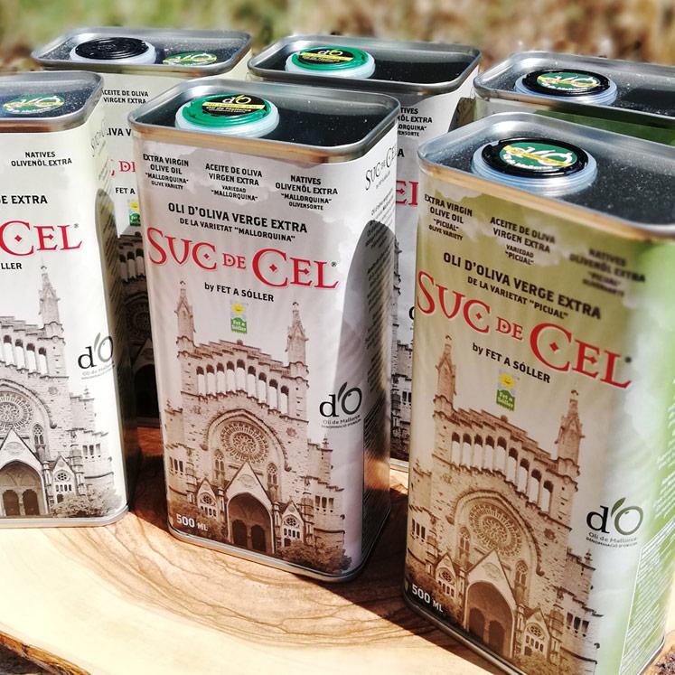 6 x Suc de Cel Olive Oil D. O. tasting box