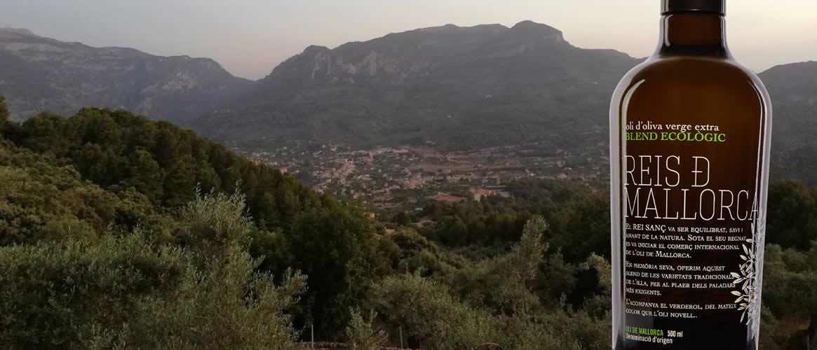 Reis de Mallorca  Rei Sanç Eco Olive Oil Extra Virgin D. O. Coupage
