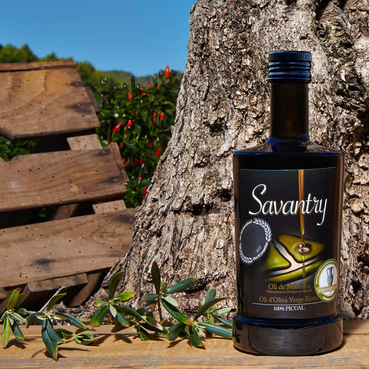 Savantry Olive Oil Extra Virgin D. O. 500ml round bottle