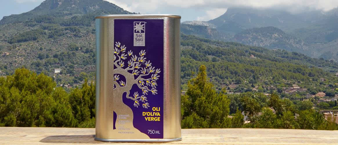 SolSoli Mallorquina olive oil Virgen 750ml