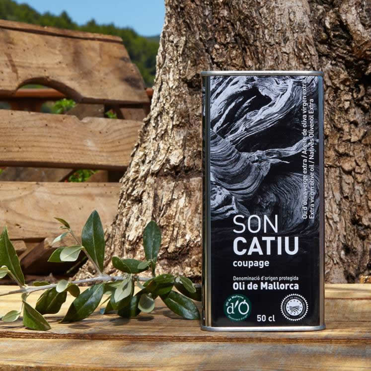 Son Catiu Olive Oil Virgen Extra D.O. can