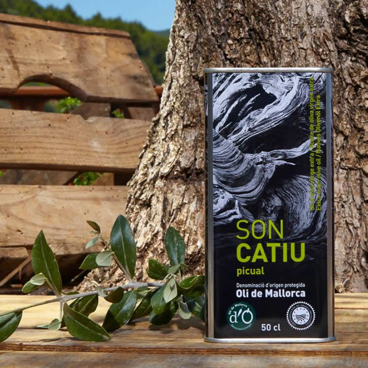 Son Catiu Picual Olive Oil Virgen Extra D.O.