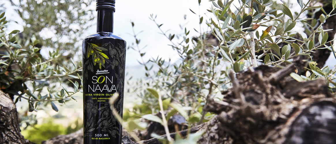 Son Naava organic olive oil Virgen Extra D.O. Demeter
