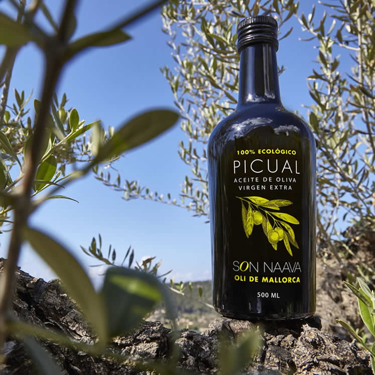 6x Son Naava organic Oliveoil Picual Virgen Extra D.O.