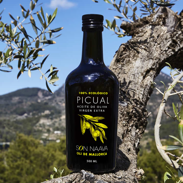 Son Naava organic Oliveoil Picual Virgen Extra D.O.