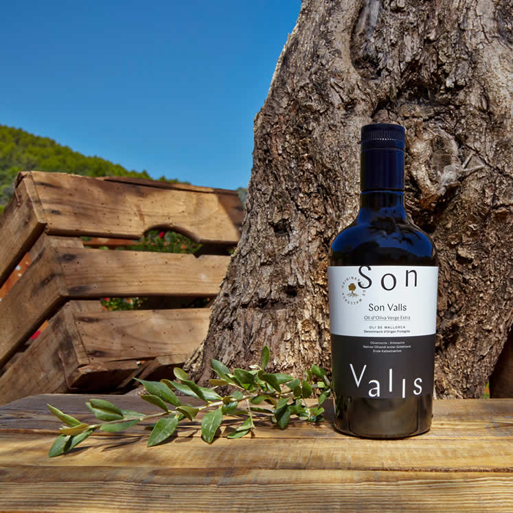 Son Valls olive oil Virgen extra D.O.