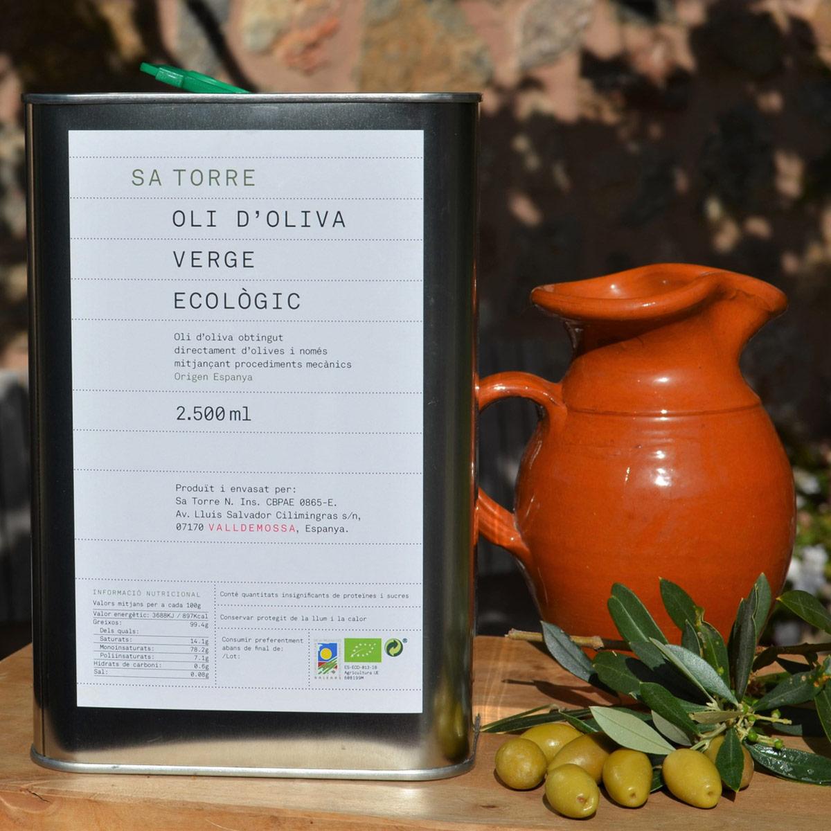 Sa Torre Bio Olivenöl Virgen