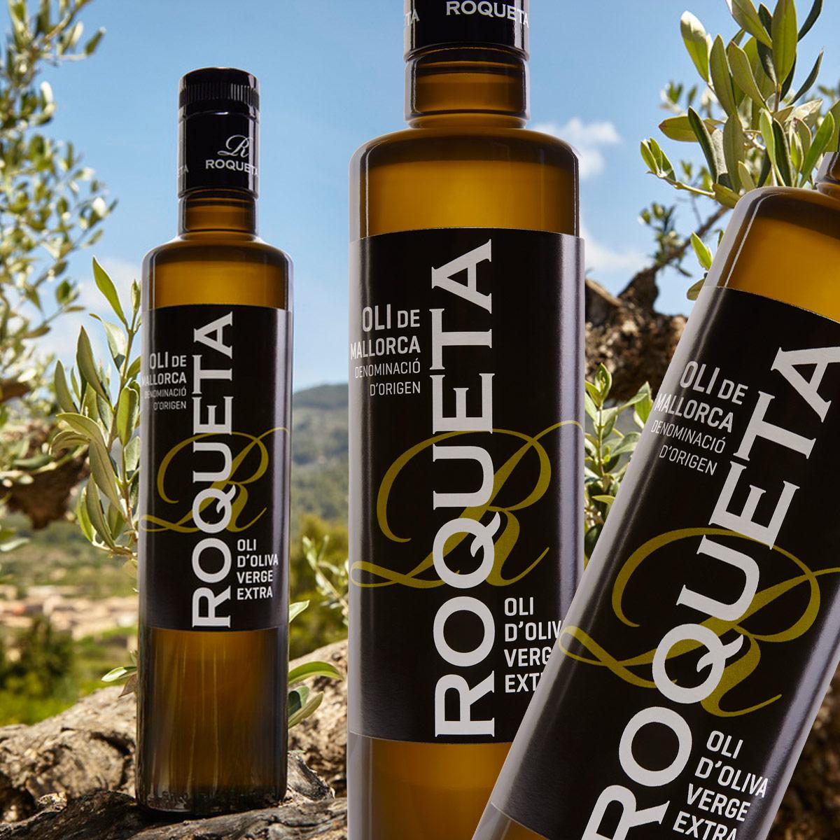 6 x Roqueta Olive Oil Virgen Extra D.O.