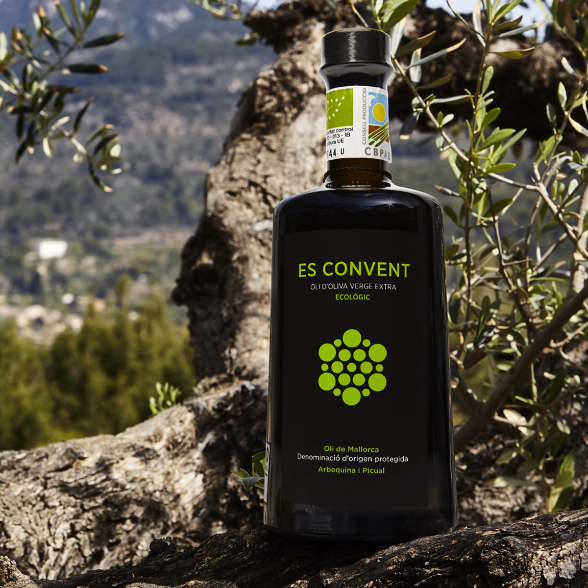 6 x Es Convent, Huile d'olive vierge extra D.O.