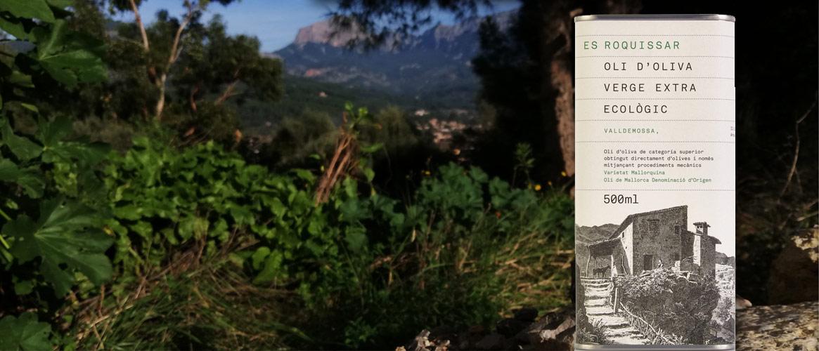 Es Roquissar Bio Olivenöl virgen extra, D.O. oli de Mallorca 500ml