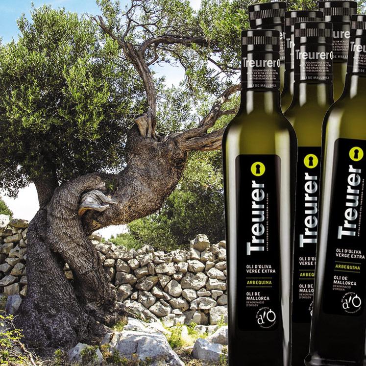 6 x Treurer Olivenöl Virgen Extra D.O.