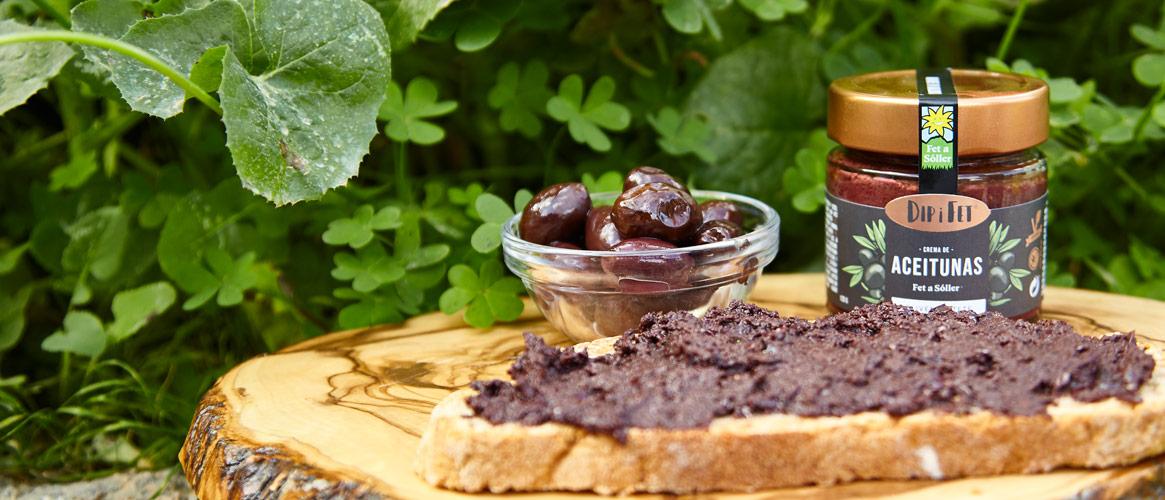 Dip i Fet schwarze Olivencreme vegan