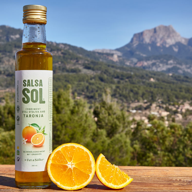 SalsaSol Orange natural Olivenöl mit Orange