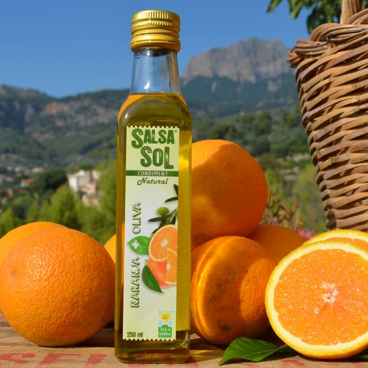 SalsaSol Orange natural olive oil with orange