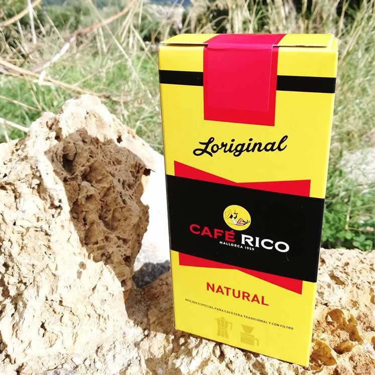 Café Rico molido natural gemahlener Kaffee