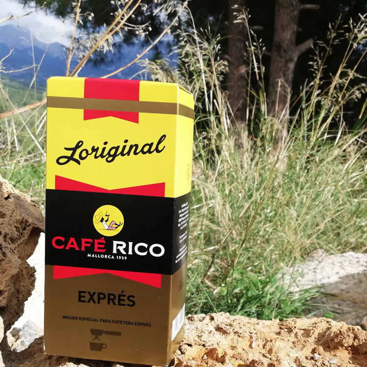 Café Rico molido natural gemahlener Kaffee für Espressomaschinen