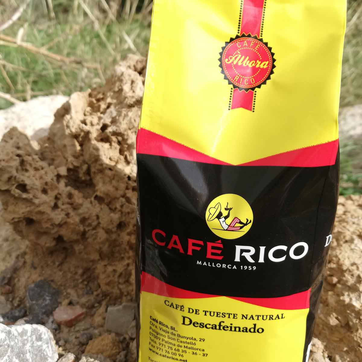 Decaffeinated Coffee Bean, Rico