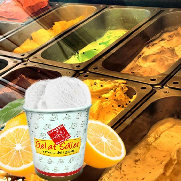 Zitronensorbet Gelat Sóller 2,5l